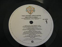 The Doobie Brothers One Step Closer Warner Bros HS3452 Stereo Vinyl LP image 6