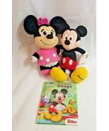 "Mickey 14"" + TALKING electronic Minnie Mouse pink Plush Disney toys + so... - $0.98"