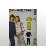 McCalls 5503 New SewingToddler size 1 to 3 PJs  - $5.95