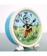 BAYARD GOOFY Alarm Clock Disney Mantel Motion! ANIMATED Feature! Vintage... - $195.00