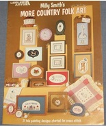 Milly Smith's More Country Folk Art Cross Stitc... - $4.50