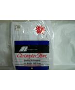 2 Pr Men's Christopher Hart  White Boxer Shorts, Size 2X (46/48), NIP - $8.50