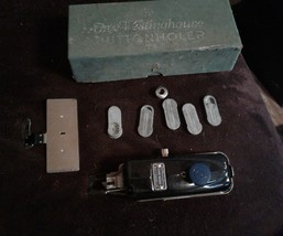 Free-Westinghouse Sewing Machine Buttonholer - Original Box