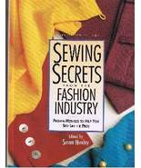 Sewing Secrets from the Fashion Industry (1996) - $9.00