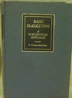 Basic marketing a managerial approach 1968