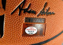 DONOVAN MITCHELL / UTAH JAZZ / AUTOGRAPHED FULL SIZE NBA LOGO BASKETBALL / COA image 5