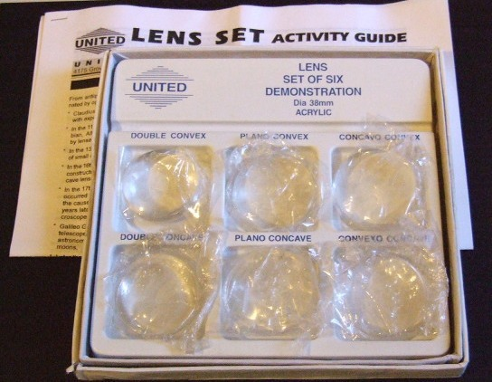 Demonstration Lens set Homeschool  educational item