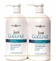 Just COCONUT Moisturizing Shampoo & Conditioner Nourishing & Smooth Hair 33.8oz  - $42.99