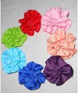 Ribbon Flower Brooch And Hair Clip - $6.00