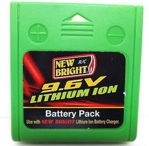 1 x Battery 9.6 Volts Lithium ION for New Bright F/F Baja Extreme Truck - $17.00