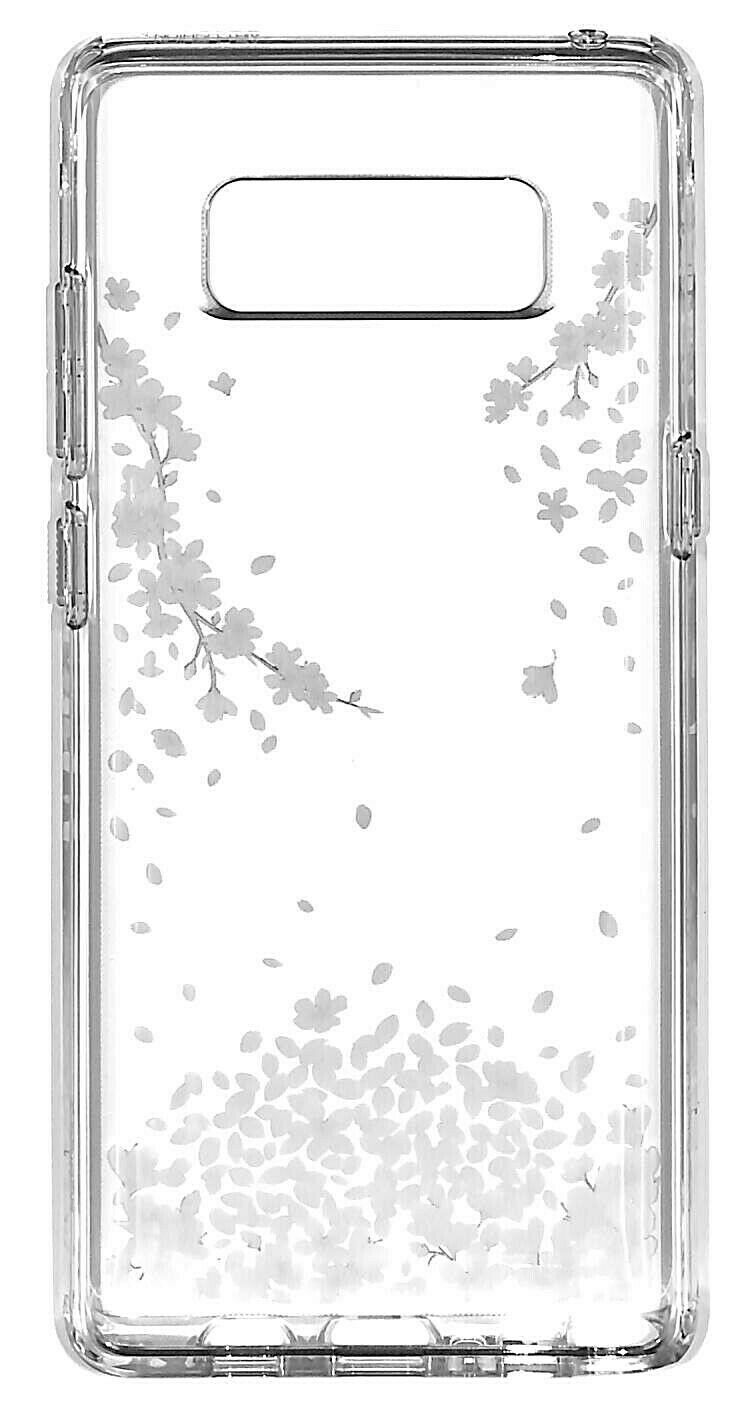 Spigen Floral Clear Case for Samsung Galaxy Note 8 - Liquid Crystal Blossom