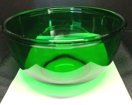 """Vintage Anchor Hocking Forest Green Glass 1 Quart 6"""" Mixing Bowl - $21.00"""