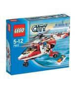 New Lego City 7903 Rescue Helicopter from Japan shipping with Tracking - $85.84