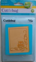 Provo Craft Cuttlebug Embossing Folder Owl Flourish #37-1913
