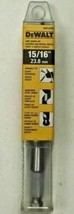 """DeWalt DW1670 15/16"""" x 6"""" Power Ship Auger Drill Bit w/ 7/16"""" Quick Change Shank - $9.90"""