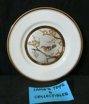 "Chokin Wall Art Plate 7.5 - 8"" metal engraved silver copper gold bird in... - $23.73"