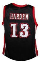 James Harden #13 Artesia High School Basketball Jersey New Sewn Black Any Size image 2