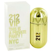 212 Vip by Carolina Herrera 1.7 oz EDP Spray Perfume for Women New in Box - $48.91