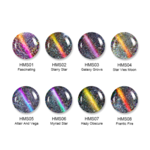 HOLOGRAPHIC 3D MAGNETIC SERIES Glitter Varnish Magnet Nail Art Lacquer image 11