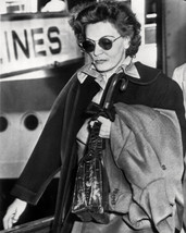 Greta Garbo Candid Late 1970's Arriving in Paris 16x20 Canvas - $69.99