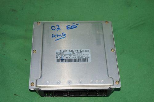 Mercedes Engine Control Unit Module ECU ECM A0315451032 A 031 545 10 32