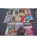 Isaac Asimov's Science Fiction Magazine Lot of 11 from 1982 - $18.89