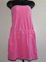 Old Navy Women's Pink Terry Cloth Cover-Up Dress Size: L