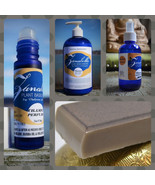 CHAMPA AROMATHERAPY GIFT SET- Organic Perfume Skin Cream Soap & Body Mis... - $53.87