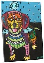 "Pingo World 0708QB2MGSM ""Heather Galler Beagle II Dog"" Gallery Wrapped Canvas Wa - $54.40"