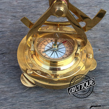 Maritime Compass Instrument Theodolite Service Telescope & Alidede Compa... - $46.44