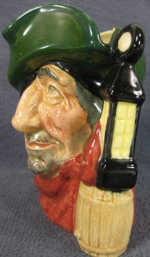 """The Smuggler D6619 Royal Doulton Character Toby Jug Small 4"""" 10cm  image 4"""