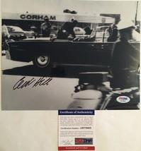 Clint Hill Secret Service Autographed 8x10 Photo 1 PSA/DNA COA - $48.37