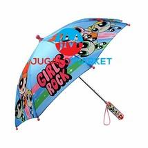 Powerpuff Girls Little Girls Assorted Character Rainwear Umbrella, Blue,... - $19.37