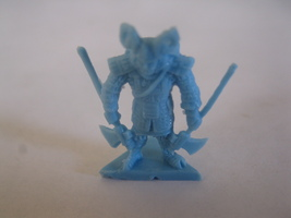2003 Age of Mythology Board Game Piece: Norse Mythic Hero Unit - Light Blue - $1.00