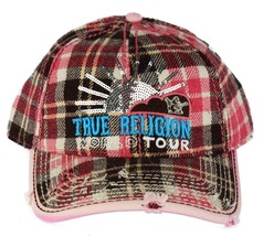 NEW TRUE RELIGION UNISEX DISTRESSED BUDDHA TRUCKER HAT CAP BROWN TR1176
