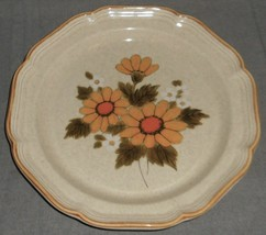 Set (5) 1970s-80s Mikasa SUNNY SIDE PATTERN Dinner Plates MADE IN JAPAN - $89.09
