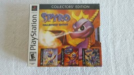 Super Rare Brand New Spyro Collector's Edition Playstation PS1 Sealed Sh... - $599.99