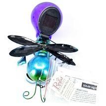 Regal Art & Gift Metal & Glass Firefly Hanging Solar Light Garden Decor image 7