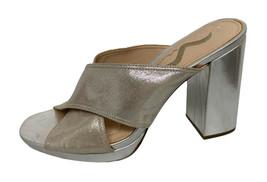 Nina Femmes Robe Soirée Chaussures Gris Métallique Taille 7M - $15.66