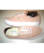 Vans Mens Authentic Pro Mahogany Rose Pink White Suede Skate shoes Size ... - $58.39