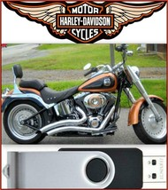 2008 Harley-Davidson Softail Service Repair & Electrical Manual USB Flash Drive - $18.00