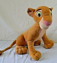 "Disney The Lion King SIMBA Stuffed Plush Large 18"" Sitting  - $26.99"