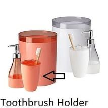Cannon Toothbrush Holder Bathroom Bath Accessory Coral Orange Peach - $10.49