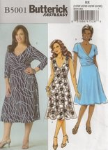 Butterick 5001, Women's Dress, Size RR(18W-24W), OOP - $13.18
