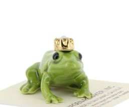 Birthstone Frog Prince October Simulated Opal Miniatures by Hagen-Renaker image 6