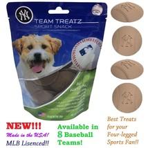 MLB Dog Treats, Delicious Baseball Shaped Cookies. Dog Rewards. 8 Baseba... - $15.99