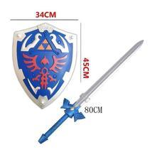 New The Legend Of Zelda Cosplay Weapon Shield Sword Set Halloween Cosplay - $8.56+