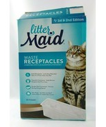 Not full 9ct Littermaid Waste Receptacles 1st & 2nd Edition Disposable P... - $10.00