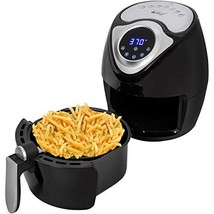 Deco Chef XL 3.7 QT Digital Air Fryer With 7 Smart Programs LCD Touch Screen Oil