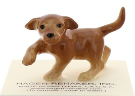 Hagen-Renaker Miniature Ceramic Dog Figurine Golden Labrador Pup